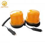China Revolving & Flashing Amber Car Emergency LED Strobe Warning Lights High Brightness wholesale