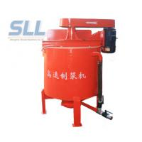 China High Speed Cement Mortar Mix Agitator 350L Capacity With Grout Pump wholesale