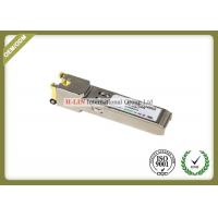 China Small Form Pluggable Sfp Transceiver Module With Spring Latch 10base-T 100base Tx wholesale