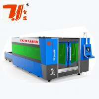 China SS Fiber CNC Laser Metal Cutting Machine With 8mm Steel Structure wholesale