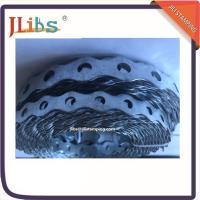 China Metal Stamping Perforated Steel Strapping Rounded , Customized Stamping Parts wholesale