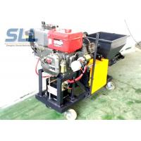 China Color Changeable Spraying And Plastering Machines High Efficiency 12HP 5MPa wholesale