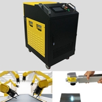 China 200W Laser Rust Removal Portable Single Phase 200W Fiber Laser Cleaning Machine wholesale