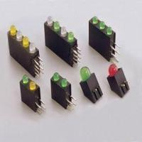 China Plastic Injection Parts with LED Lamp, Available in Various Colors wholesale