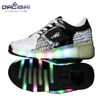 Quality New style comfortable led light up kids roller skate shoes for sale