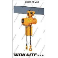 Buy cheap 2ton High Power Electric Chain Hoist (SSDHL02-01) from wholesalers