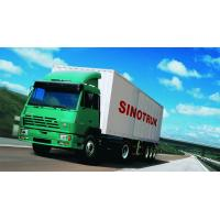 China SINOTRUK STEYR 371HP 15 Ton Prime Mover Truck in Green , Manual Unloading Diesel Trucks , Global Machine wholesale