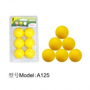 China A125 pu golf ball,flying ball,practice ball,golf ball,practice golf ball wholesale
