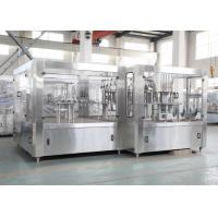 China Electric Fruit Juice Hot Filling Machine , Automated Drink Filler wholesale