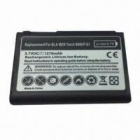 China Mobile Phone Battery for BlackBerry 9800, Fully Decoded 1270mAh Battery Replaces F-S1 wholesale