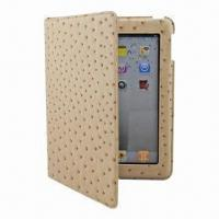 China PU Leather Case for New iPad, Various Colors are Available, OEM and ODM Orders are Welcome wholesale