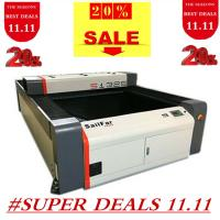 China 80-150 W S1325 Co2 Industrial Laser Cutting Machine 1300x2500mm Working Area on sale