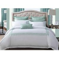 China Simple Modern Bedding Sets 100% Cotton Embroidered With Twin / Queen / King Size wholesale