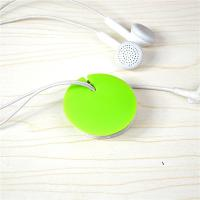China Round Shaped ABS Magnet Cable Drop Clips Beadphone Wire Manager For Headphone wholesale