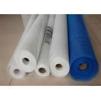 China Fireproof Fiberglass Screen Roll , Fiberglass Mesh For Concrete Reinforcement wholesale