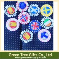 China Factory make high quality custom round Custom poker chips and casino chip wholesale
