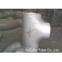 Buy cheap ASTM A403 Stainless Steel Pipe Fittings Schedule 5S 10S 40S Reducing Tee NPS 1/2 from wholesalers