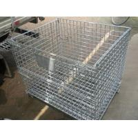 China Folding Wire Mesh Container wholesale