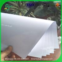 China Jumbo roll and 100 sheets a4 size premium high glossy inkjet photo paper for double sided printing on sale