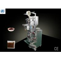 China Vertical Automatic Liquid Packaging Machine , Pepper Sauce Packing And Filling Machine wholesale