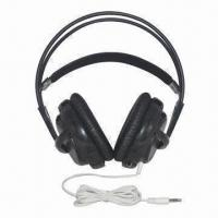 China Big DJ Headphones with Good Sound, 3.5mm Plug Type, 2.2m Cord Length, Ear Pads Cover on sale