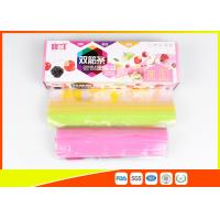 Quality Packaging Pink Lip Zip Lock Plastic Bags , Custom Zip Lock Bags For Supermaret for sale