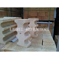 China Special Shape Refractory High Alumina Clay Bricks For Fireplace / linings wholesale