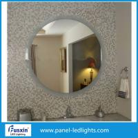 Buy cheap High Effiency Glass Round Led Bathroom Mirror / round illuminated bathroom from wholesalers