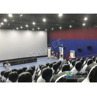 China Beautiful Decoration 5D Theater Chair With Many Leather And Fiberglass Seats For Choice wholesale