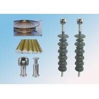Buy cheap Transmission Line 33kV Composite Polymer Insulator High Tension Outdoor Use from wholesalers