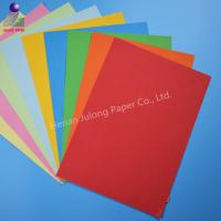 China China Supplier Colorful Paper , Offset Printing Pure Color Pink / Blue Wrapping Tissue Paper on sale