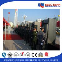 China Walk through security gates metal detector gate , prisons to detect weapons on human body wholesale
