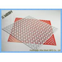 China Architectural Facades Honeycomb Perforated Sheet Metal Stainless Steel Material wholesale