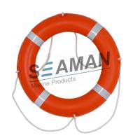 China 4kgs 720mm CCS / EC Cert Life Preserver Ring Marine Lifebuoy With Rescue Line Reflective Tape wholesale