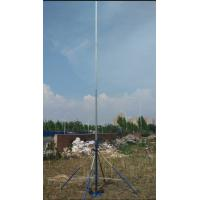 China telescoping mast / telescopic pole antenna tower light weight flag pole 30ft 9 meter high aluminum mast wholesale