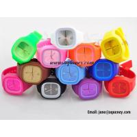 China Band new Cheap Stylish Jelly Silicone Watch with wholesale price wholesale