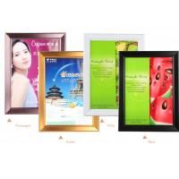 China Economic Large Snap Lock Frames 40mm Width Wall Mounted Non Illumianted wholesale