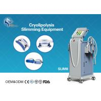 China Innovative Cryolipolysis Freeze Fat Reduction Machine with 4 Handles Work Cryotherapy With USA Pump wholesale