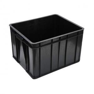 China Black Conductive Glossy Lamination ESD Packing Box For Electronics wholesale