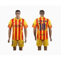 Buy cheap 2013-14 season club jersey Barcelona away 18# JORDIALBA from wholesalers