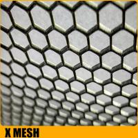 China Customize BA finish fmx00481 stainless steel perforated sheet with 1000mm width wholesale