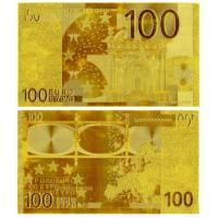 China 100 EURO Gold Foil Banknote wholesale