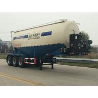 China V or W Shape Bulk Cement Truck Semi Trailer Anti - Rust Chassis Surface wholesale
