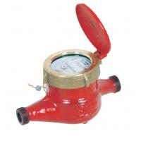 China Magnetic Drive Hot Water Meter , Iron Body DN20 Smart Home Water Meter on sale