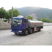 Quality JAC Mobile Refueling Oil Tank Truck 6x2 , Fule Oil Delivery Trucks 20000L for sale