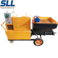 China Mix Mortar Cement Stucco Sprayer , Automatic Plastering Machine For Wall wholesale