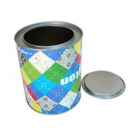 China Custom printing round sweet tin boxes wholesaler wholesale