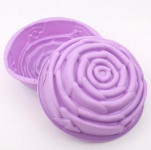 China Medium Size Silicone bakingMolds , Cake Decorating Molds FDA Approved wholesale