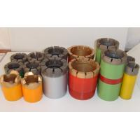 China Impregnated Core Bits / Granite Core Drill Bits With Hard Matrix wholesale