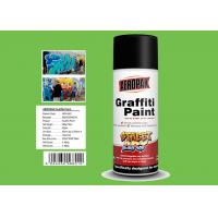 China Jade Green Color Graffiti Spray Paint High Coverage For Motorcycle Surface Decoration wholesale